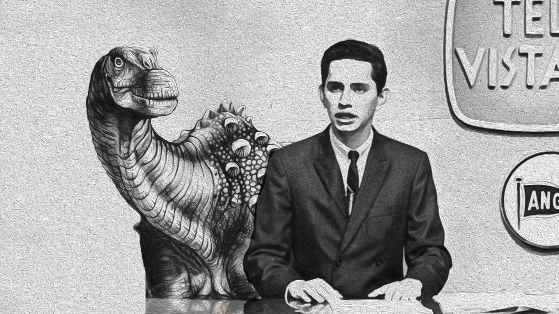 Dinosaurio Ecuador y Don Alfonso